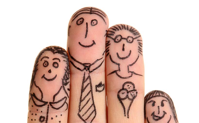 Family fingers