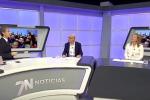 El Colegio Salzillo visita 7 Televisión.