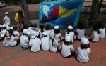 Los alumnos de 3.º de Infantil realizan su particular viaje alrededor del mundo