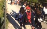 Peregrinación del Colegio Salzillo a Caravaca de la Cruz
